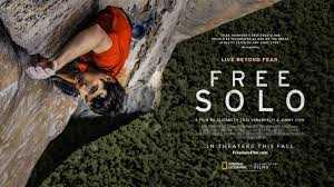 Alex Honnold en Free Solo, Premio Oscar 2019 al mejor documental!